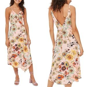 JUST IN! STARS & FLOWER POWER RUFFLED SLIP DRESS